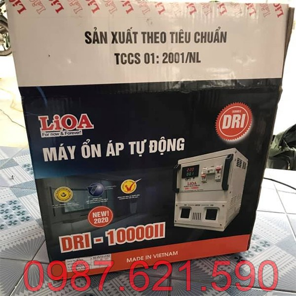 Ổn áp Lioa 10KVA DRI-10000 II 4