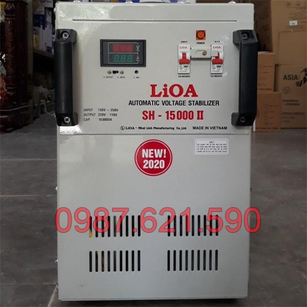 Ổn áp LiOA 15KVA SH-15000 II