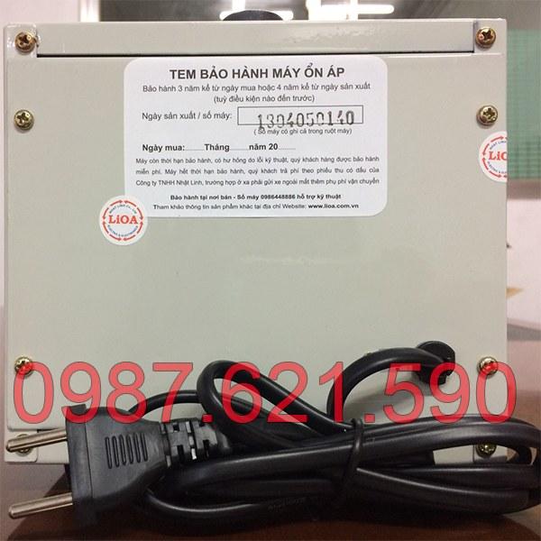 Ổn áp Lioa 1KVA DRI-1000 II 2
