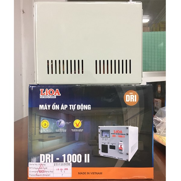 Ổn áp Lioa 1KVA DRI-1000 II 3