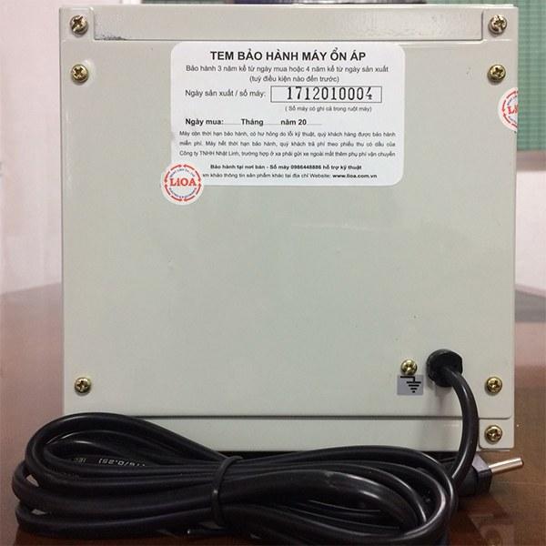 Ổn áp Lioa 1KVA DRII-1000 II 3
