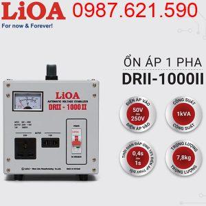 Ổn áp LiOA 1KVA DRII-1000 II