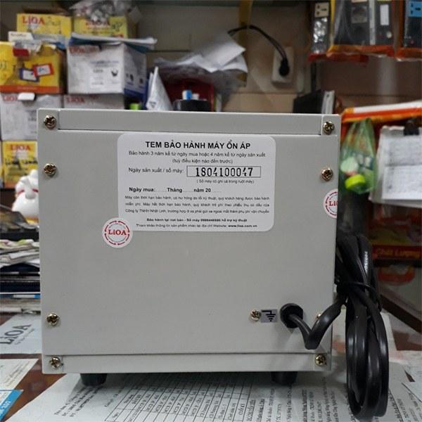Ổn áp Lioa 1KVA SH-1000 II 3