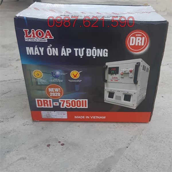 ổn áp lioa 1p dri-7 5kva ii dri-7500ii