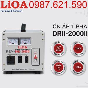 Ổn áp Lioa 2KVA DRII-2000 II