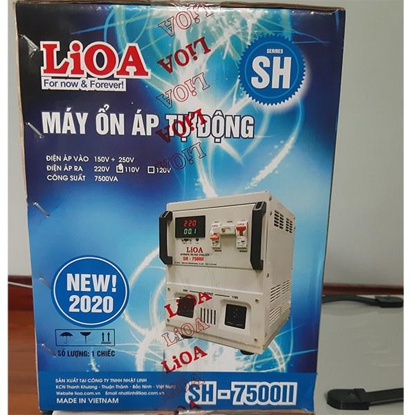 Ổn áp Lioa 7,5KVA SH-7500 II 2