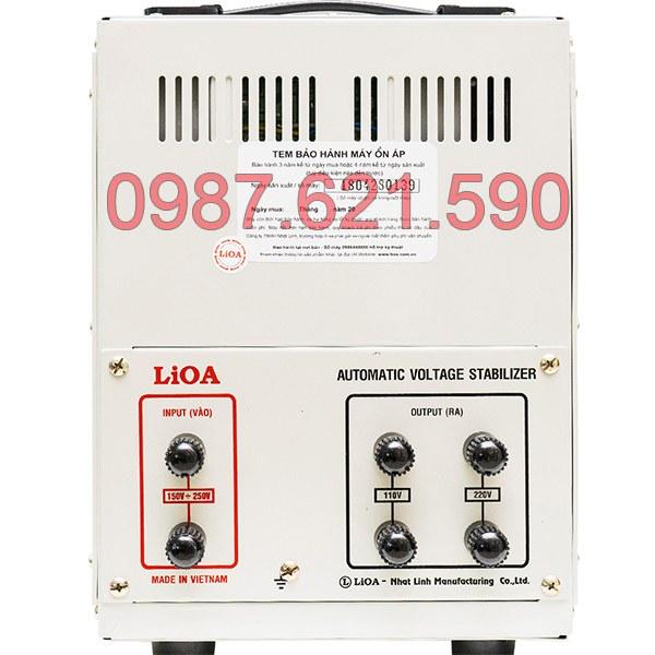Ổn áp Lioa 7,5KVA SH-7500 II 3