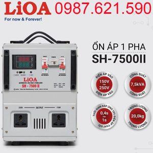 Ổn áp LiOA SH-7500II