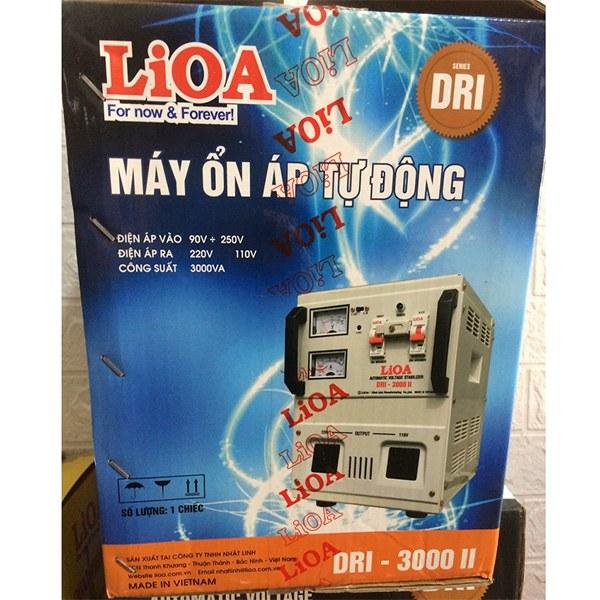 Ổn áp LiOA 3KVA DRI-3000II 2
