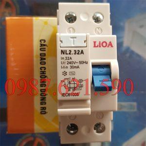 Aptomat chống giật LiOA 32A