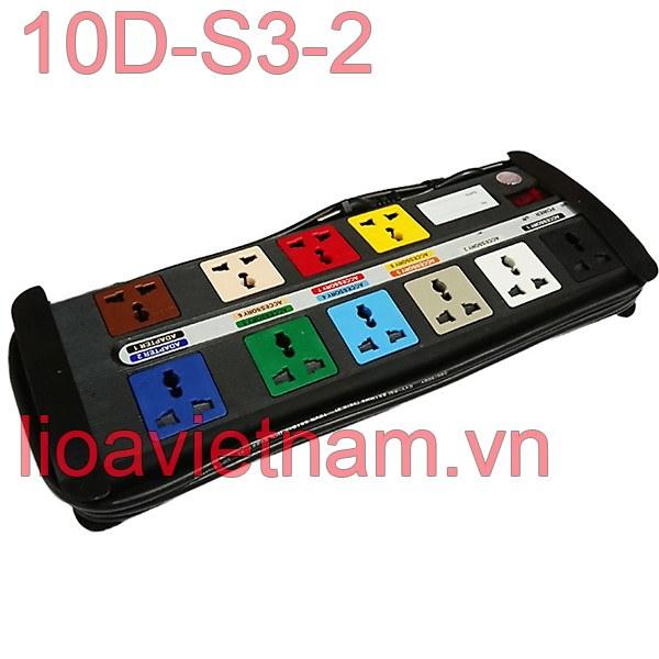 Ổ cắm Lioa 10 lỗ 10D-s3-2