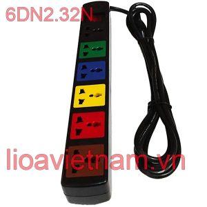 Ổ cắm Lioa 6 lỗ 6DN2.32N