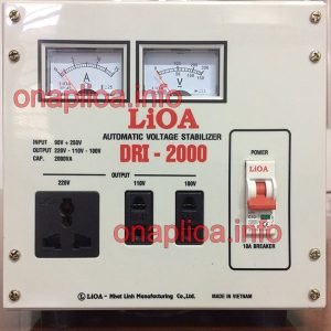 Lioa DRI 2000 phiên bản 2018