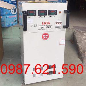 Ôn áp Lioa 10KVA 3 pha SH3-10K II