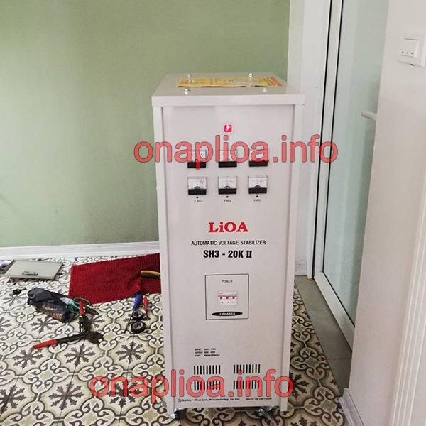 Ổn áp Lioa 20KVA 3 pha SH3-20K II