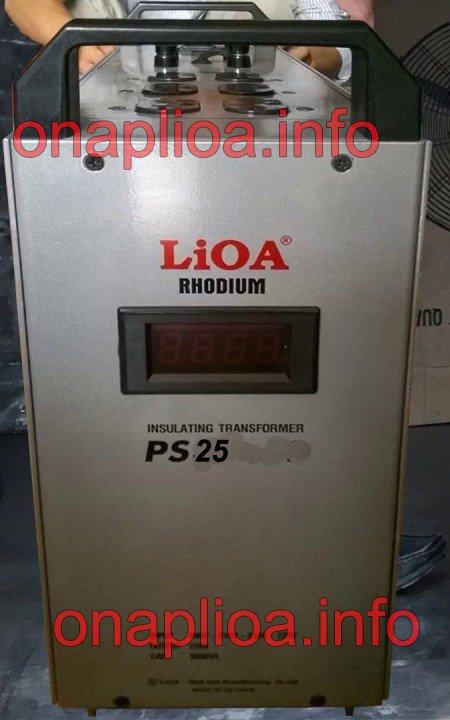 Biến áp cách ly Lioa PS25
