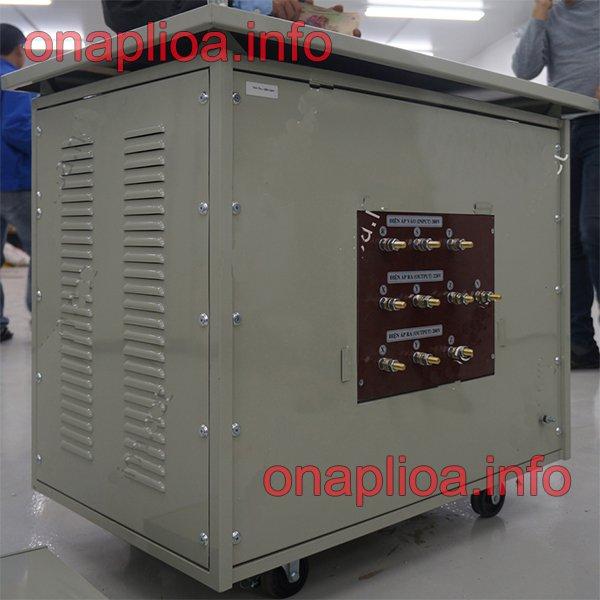 Máy biến áp cách ly Lioa pha 80KVA