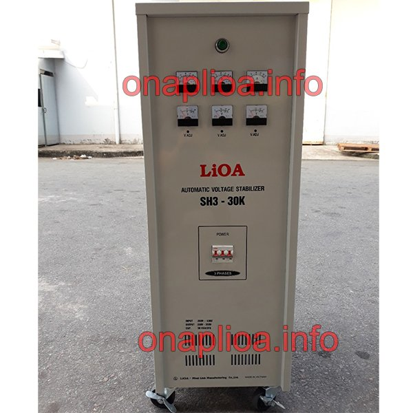 Ổn áp Lioa SH3-30K II