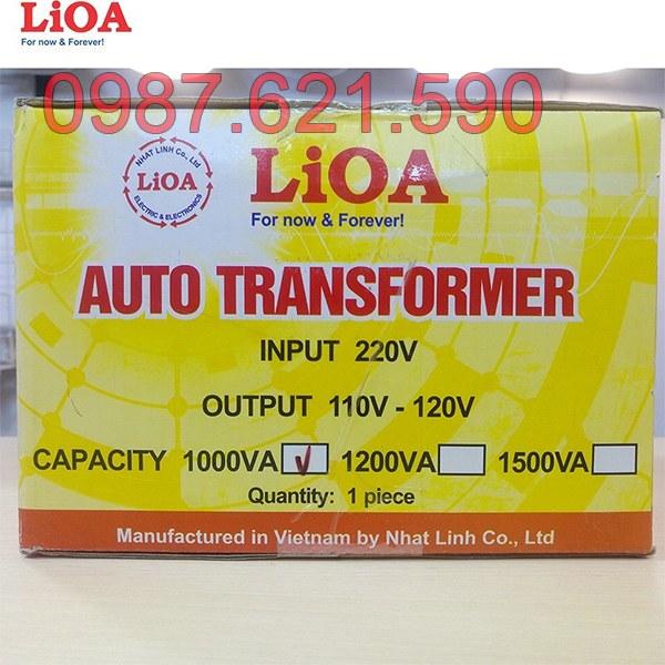 Biến áp tự ngẫu LiOA 1000VA 2