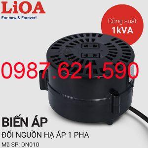 Biến áp tự ngẫu Lioa 1000VA