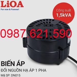 Biến áp tự ngẫu Lioa 1500VA