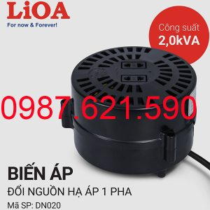 Biến áp tự ngẫu Lioa 2000VA