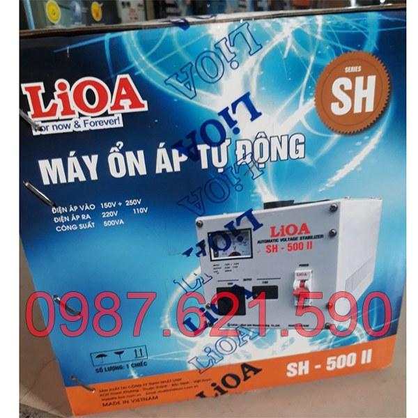 Ổn áp LiOA 0,5KVA SH-500 II 2