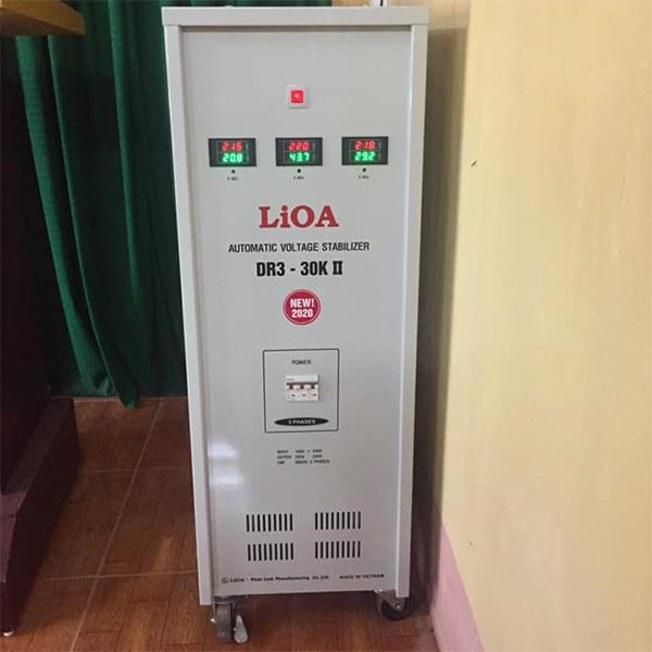 Ổn áp LiOA 30KVA 3 pha DR3-30K II