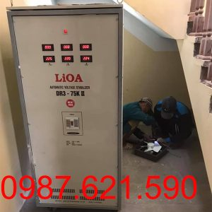 Ổn áp LiOA 75KVA 3 pha DR3-75K II