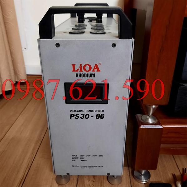 Biến áp cách ly Lioa PS30-06