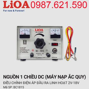 Máy nạp ắc quy Lioa BC-1815