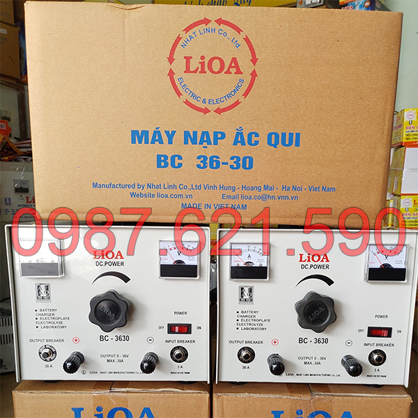 Máy nạp ắc quy LiOA BC-3630 2