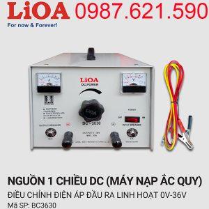 Máy nạp ắc quy Lioa 30A BC-3630