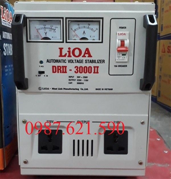 Ổn áp LiOA 3KVA DRII-3000 II