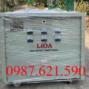 Biến áp 3 pha 380V/ 220V 60KVA