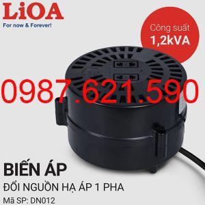 Biến áp tự ngẫu Lioa 1200VA