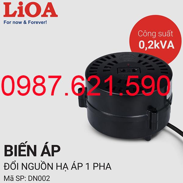 Biến áp tự ngẫu Lioa 200VA