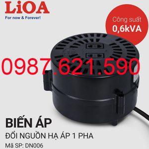 Biến áp tự ngẫu Lioa 600VA
