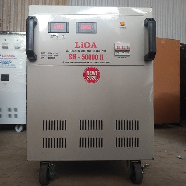 Ổn áp Lioa 50KVA SH-50000II