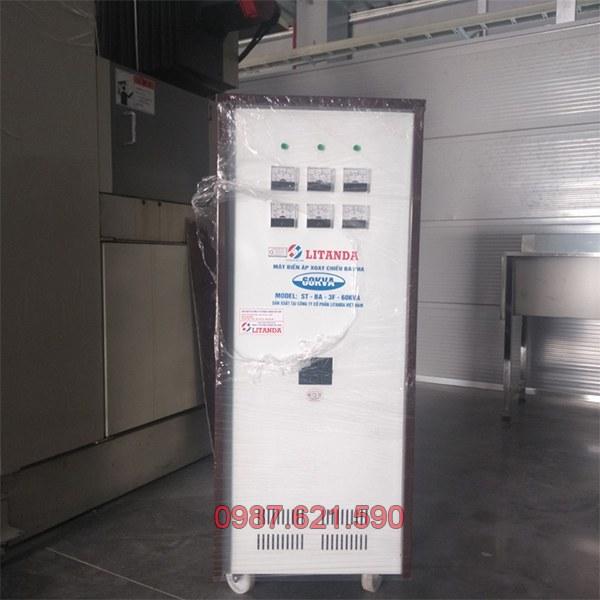 Biến áp 3 pha 380V/ 220V 60KVA 2
