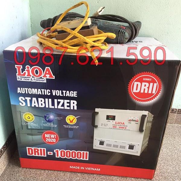 Ổn áp Lioa 10KVA tiêu thụ bao nhiêu điện