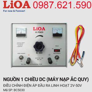 Máy nạp ắc quy Lioa BC-5030