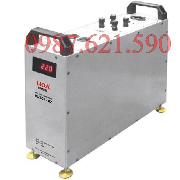 Biến áp cách ly kết hợp lọc nguồn LiOA PS30F-02