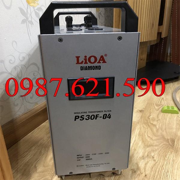 Biến áp cách ly kết hợp lọc nguồn LiOA PS30F-04