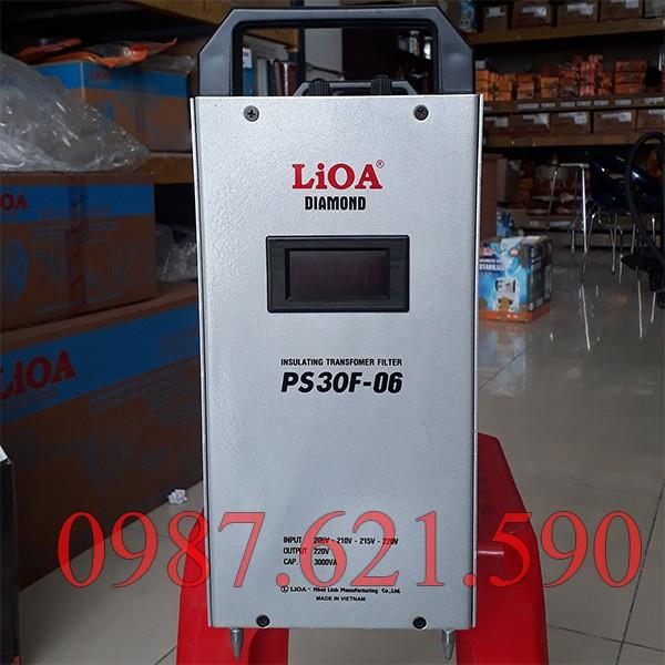 Biến áp cách ly kết hợp lọc nguồn LiOA PS30F-06