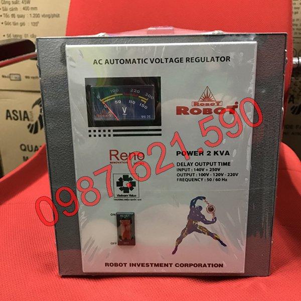 Giá ổn áp Robot 2KVA