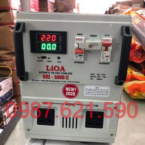 Ổn áp Lioa 5KVA DRI-5000 II