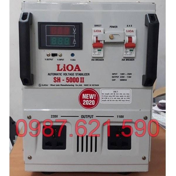 Ổn áp Lioa 5KVA SH-5000 II