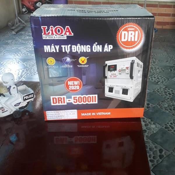 Ổn áp Lioa 5KVA DRI-5000 II 2