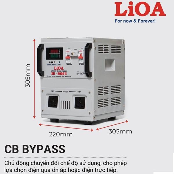 Đặc điểm ổn áp LiOA SH-5000II